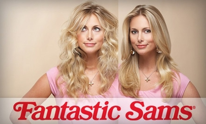 Fantastic Sams - Multiple Locations: $10 for Shampoo, Haircut, Deep-Conditioning Treatment, and Blow-Dry at Fantastic Sams ($20.95 Value)