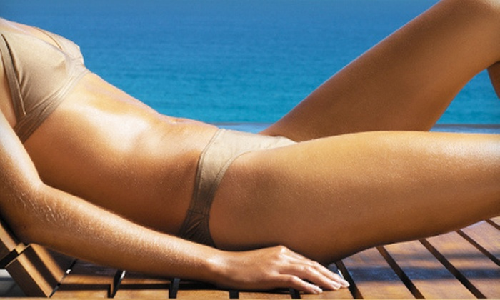 Solar Salon - Multiple Locations: Two UV Tanning Sessions or One Airbrush Tanning Session at Solar Salon (Up to 60% Off)