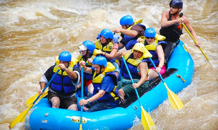 Appalachian Outdoors - Hartford: $34 for Two White-Water Rafting Tour Tickets from Appalachian Outdoors in Hartford (Up to $75.90 Value)