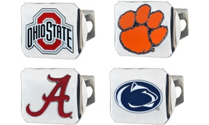 Fanmats NCAA Chromed Hitch Cover with Color Emblem