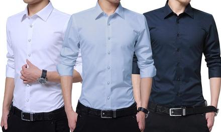 the best attitude b6680 c4000 3 camicie uomo Ferrucci in offerta