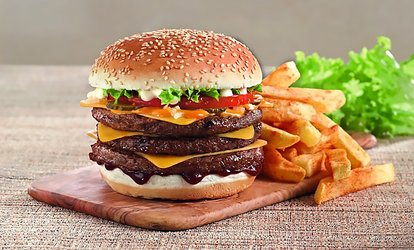 image for Choice of a Burger or Chicken Meal with Chips and Drink for Up to Four at Steers (Up to 38% Off)