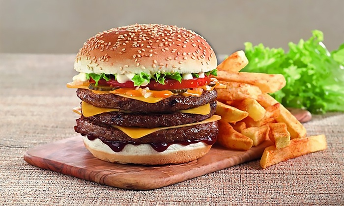 Choice of a Burger or Chicken Meal with Chips and Drink for Up to Four at Steers (Up to 38% Off)