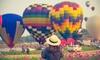 Godzinny lot balonem dla 1-2 osób