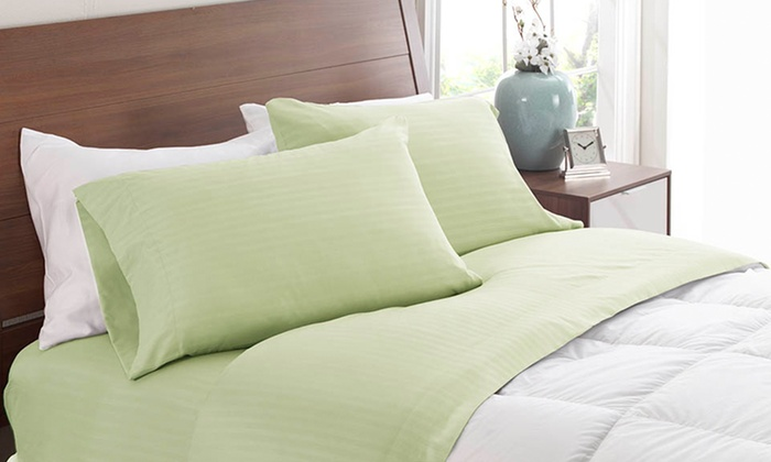 Royal London Collection Dobby-Stripe Sheet Set: Royal London Collection Dobby-Stripe Sheet Set. Multiple Sizes from $17.99–$29.99. Free Returns.