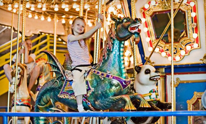 The Hollywood Connection - West Valley City: One- or Five-Person All-Day Indoor-Amusement Outing at The Hollywood Connection in West Valley City (Up to 75% Off)