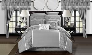 Bedroom in a Bag Comforter Set (24-Piece)