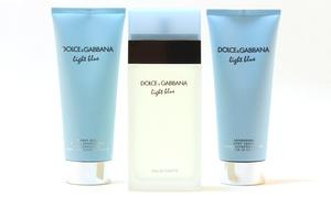 Dolce & Gabbana Light Blue Set for Women (3-Piece) at Dolce & Gabbana Light Blue Set for Women (3-Piece), plus 9.0% Cash Back from Ebates.
