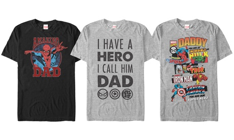 Marvel Father's Day Men's Graphic T-Shirts