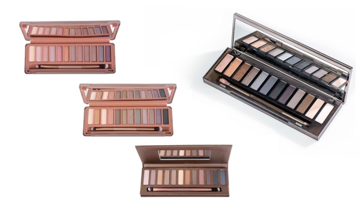 Nude or Smokey Eye Shadow Palettes
