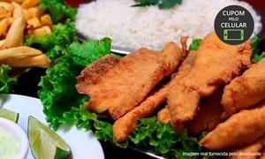 Restaurante Espinha de Peixe: Restaurante Espinha de Peixe – Saúde: filé de tilápia ou pescada com molho de camarão, fritas e arroz para 2 ou 4