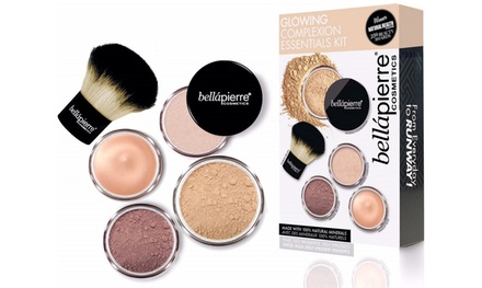 One or Two Bellapierre Cosmetics Glowing Complexion Essentials Medium Kits