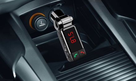 One or Two Bluetooth Four-in-One Bluetooth FM Transmitter