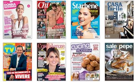 Abbonamenti Mondadori: Donna Moderna e riviste femminili di casa e cucina con spedizione gratuita (sconto fino a 61%)
