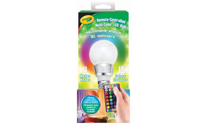 Crayola Color Changing Led Bulb With Remote Control Groupon