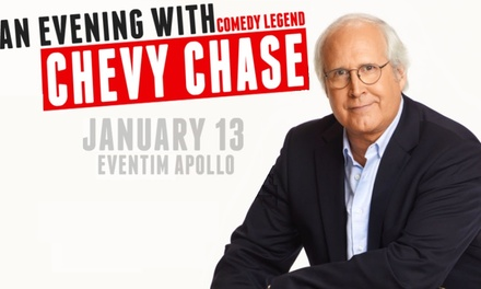 Evening with Comedy Legend Chevy Chase, Band A, B, C or D Ticket, 13 January (Up to 10% Off)