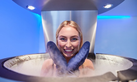One, Five, or Ten Whole-Body Cryotherapy Sessions at Cryo 17 (Up to 28% Off)