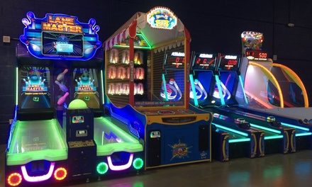 One-Hour Timed Play Arcade Game Card at THRILL ZONE Interactive Fun (40% Off)