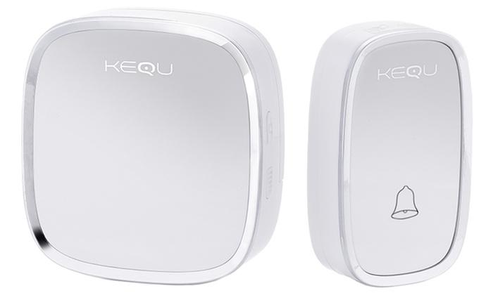 One or Two Kequ Wireless Doorbells from £8.50