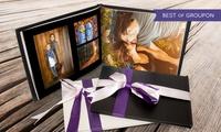 1 ou 2 livres photo Valentina de 20, 40 ou 60 pages avec couverture en cuir chez Printerpix dès 12,95 € (jusquà -85%)