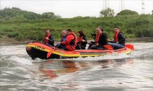 Kanutrip.ruhr – Thorsten Bartzok: Soft-Rafting-Erlebnis für 6-10 Personen bei Kanutrip.ruhr (bis zu 67% sparen*)