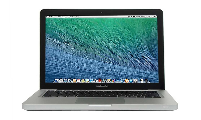 Apple MacBook Pro 13.3 Laptop with Intel i5 Dual-Core Processor, 4GB RAM, and 500GB Hard Drive