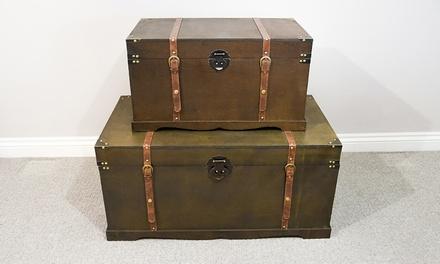 Cofres de almacenamiento estilo vintage