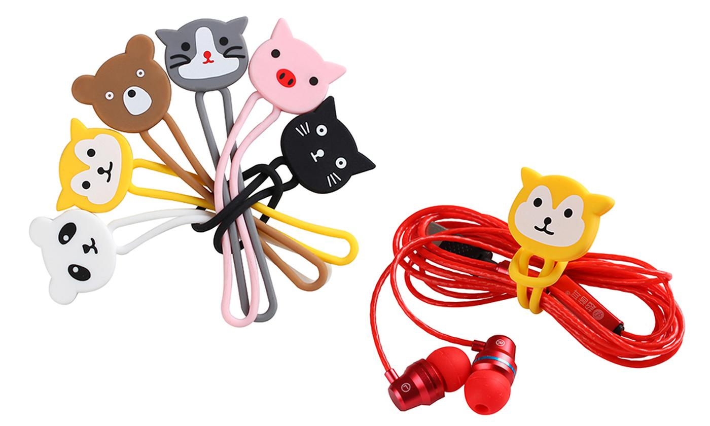 Up to 48 Cartoon Cord Cable Organisers
