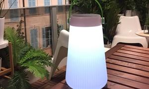 Baladeuse lumineuse solaire LED 2 en 1 avec port USB de Lumisky