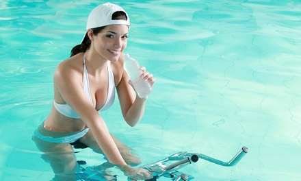 3 ou 5 séances d'aquabiking de 45 min coachées dès 19,90 € à l'institut Aqualine 77