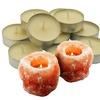 Himalayan Salt Tealight Holders (2-Pack) with Optional Candles