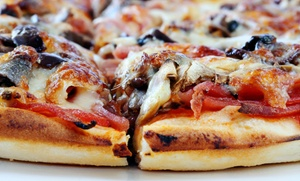 Slice Of Brooklyn Pizzeria: Up to 33% Off Pizza — Slice Of Brooklyn Pizzeria; Valid Saturday 2 PM - 6 PM