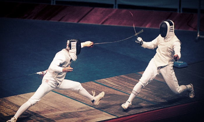 Epic Fencing - Northeast Calgary: 5 or 10 Lessons at Epic Fencing (Up to 70% Off)