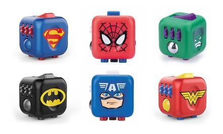 Fidget Cube anti stress Marvel / DC Comics Antsy Labs
