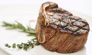Harvey's Steakhouse: Dinner for Two or Four at Harvey's Steakhouse (Up to 58% Off). Four Options Available.