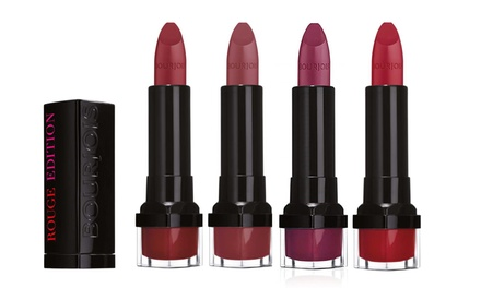 Four- or Five-Pack of Bourjois Rouge Edition Lipstick
