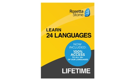 Rosetta Stone Subscriptions (Up to 44% Off)