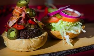 Squisito Restaurant: Hamburger gourmet, contorno, dolce, birra artigianale e caffè da Squisito Restaurant (sconto fino a 53%)
