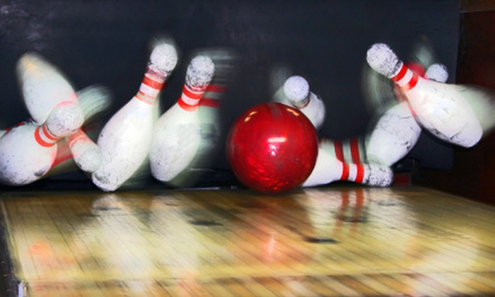 Amity Bowl - Woodbridge: $14 for a Bowling Outing for Two with Shoe Rental and Soft Drinks at Amity Bowl in Woodbridge ($29.10 Value)