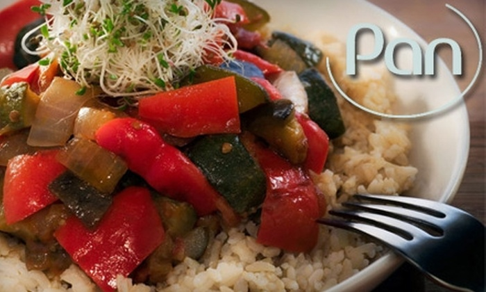 Pan Café - Downtown: $15 for $30 Worth of Local and Organic Fare at Pan Café