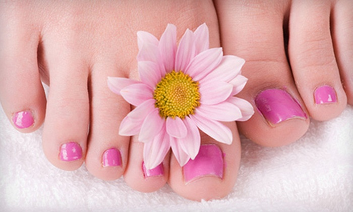 The Ivy Tanning Salon and Spa - Southampton: 60-Minute Classic Pedicure or Shellac Manicure at The Ivy Tanning Salon and Spa in Southampton (Half Off)