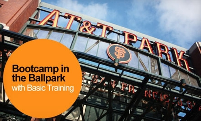 Basic Training - South Beach: $11 for One Pro-Sports-Inspired Boot-Camp Class at AT&T Park from Basic Training ($25 Value)