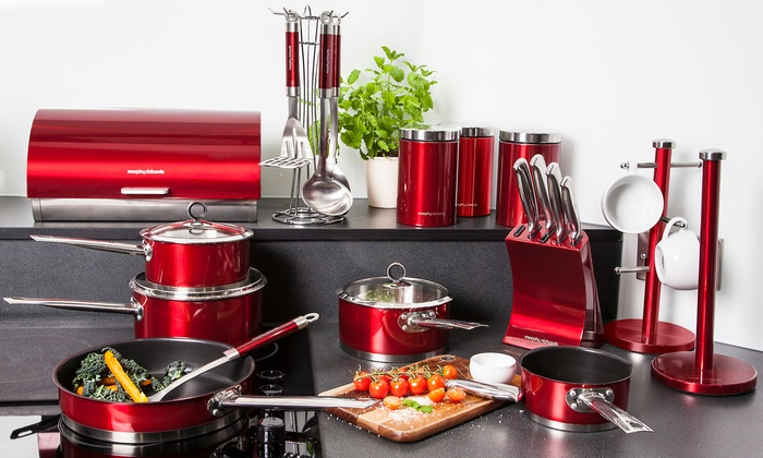 Morphy Richards 21pc Kitchen Set Groupon Goods