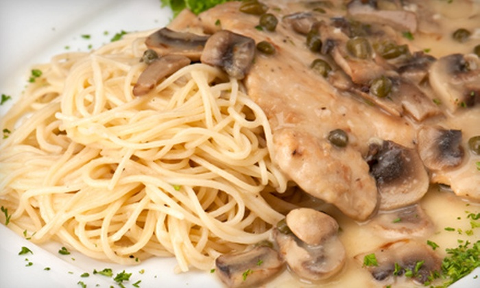Antonio's Pasta Grille - Multiple Locations: Italian Cuisine at Antonio's Pasta Grille. Two Locations Available.