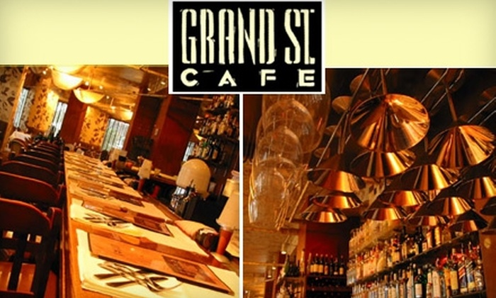 Grand Street Café - Park Central-research Park: $15 for $30 Worth of Tasty American Fare and Beverages at Grand Street Café
