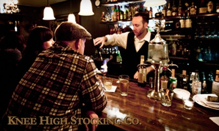Knee High Stocking Company - Broadway: $12 for an Absinthe Flight at Knee High Stocking Company ($24 Value)