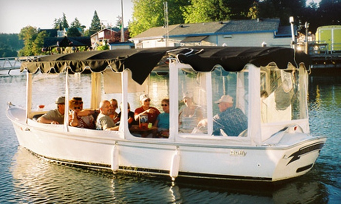 Northwest Boat Rentals and Adventures - Poulsbo: $96 for a Two-Hour Electric-Boat Rental from Northwest Boat Rentals and Adventures in Poulsbo ($193.31 Value)