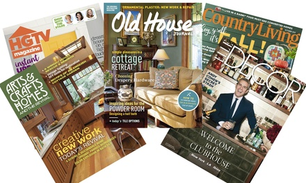 1-Year Subscription to Home and Decor Magazines from Blue Dolphin Magazines (Up to 67% Off). 5 Options Available.