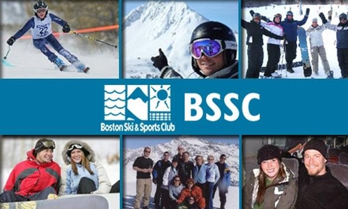 Boston Ski & Sports Club - Boston: $70 for a One-Year Membership and Day Ski Trip from Boston Ski & Sports Club ($143 value)