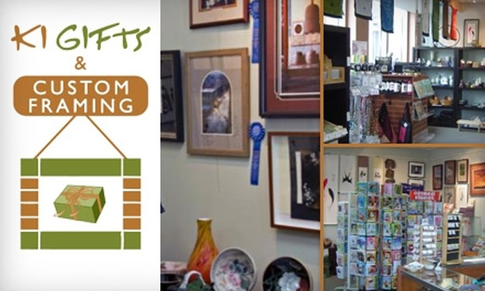 Ki Gifts And Custom Framing - Downtown: $40 for $100 Worth of Custom Framing at Ki Gifts and Custom Framing